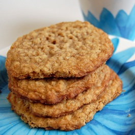 Plain Oatmeal Cookie Pile
